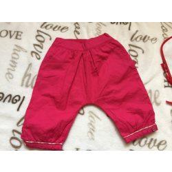 Obaibi 3-6 hó 68 cm erős rózsaszín vékony nyári ülepes-zsebes lány nadrág 03ad88aabb