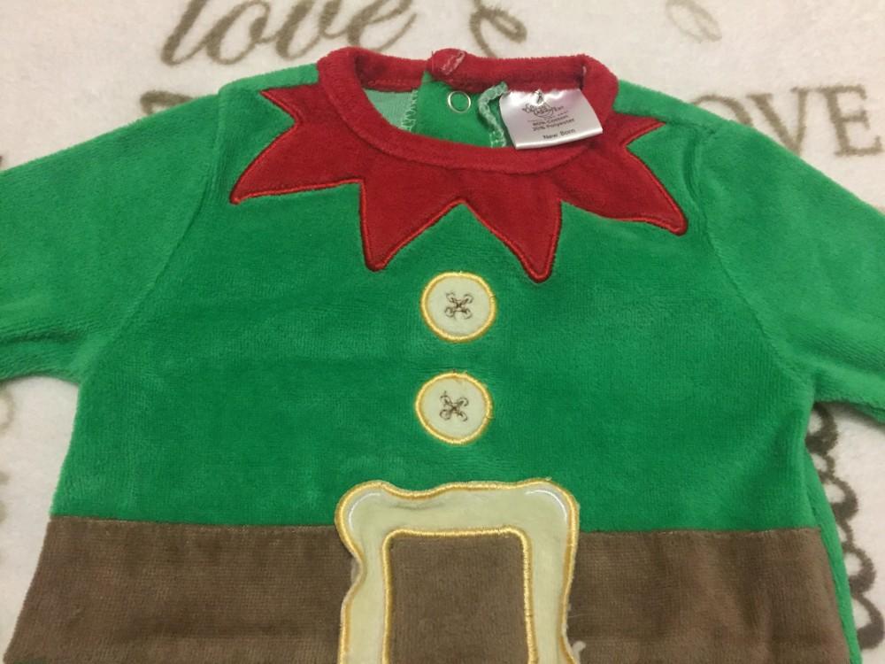 Special delivery 0-3 hó 56 -62 cm zöld - barna - piros télapó ... b94c06b13d
