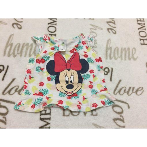 Disney 1-2 hó  56 -s Minnie mintás vékony pamut lány felső - újszerű,hibátlan